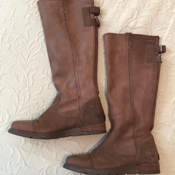 8c35f889e8e Sorel Shoes | Major Tall Tobacco Boots | Poshmark